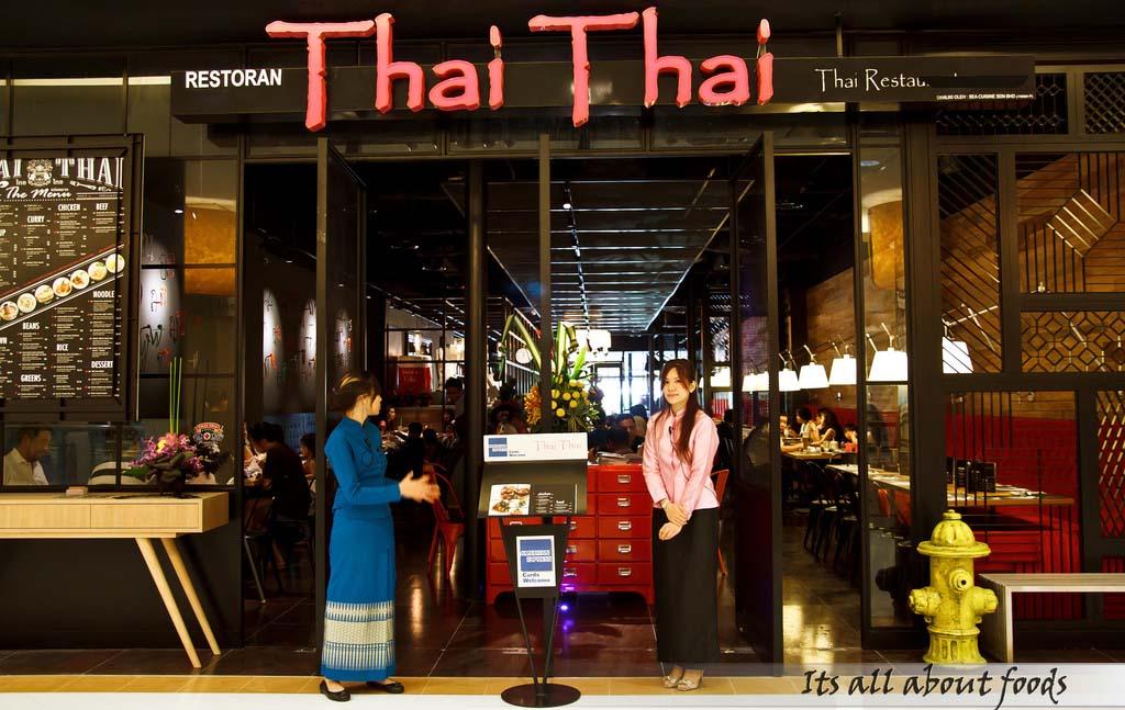 Thai Thai Restaurant @ Sunway Pyramid, Petaling Jaya