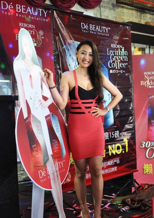 Brandy Lim As De Beauty Reborn Nutri Bifidus's Spokesperson