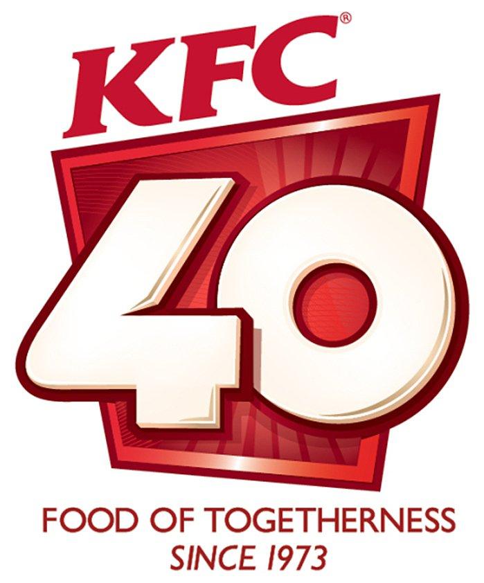 KFC Celebrates Its 40 Years of Togetherness