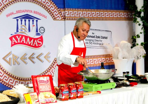 """MMM… Sedapnya Bersama Ayamas"" At Greece With Chef Wan"