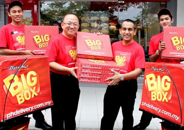 Your All-time Favourites In One Big Box @ Pizza Hut