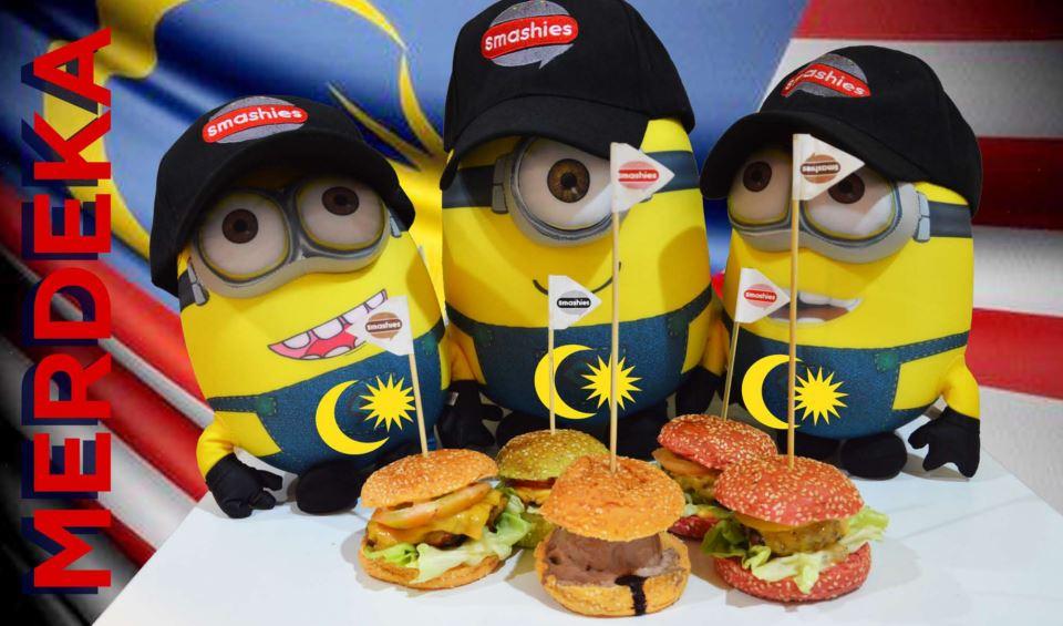Smashies Burger Celebrates All Merdeka Babies