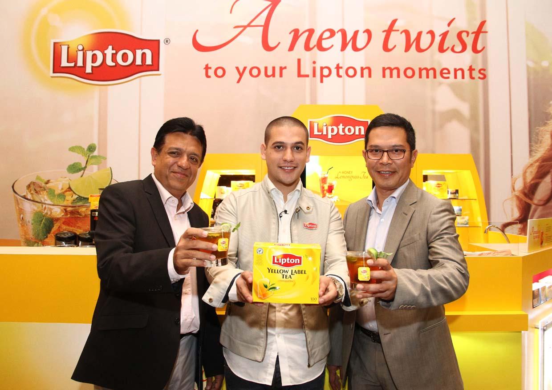 Lipton Tea Twist with Celebrity Chef Nik Michael Imran