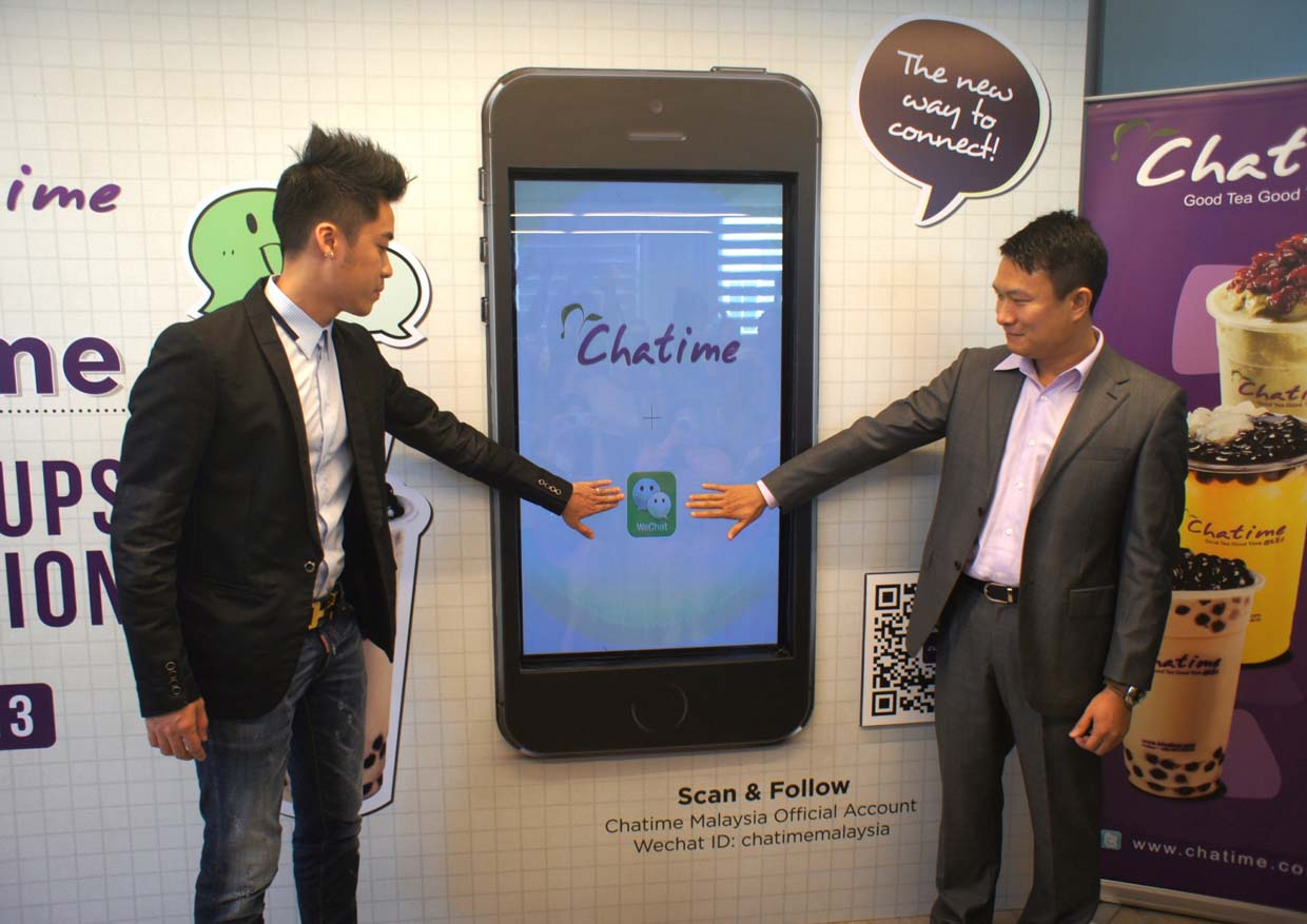 WeChat Partnership With Chatime And Celebrates With 1 Million Cups