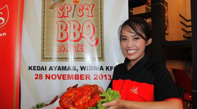 Spicy BBQ Roaster @ Kedai Ayamas