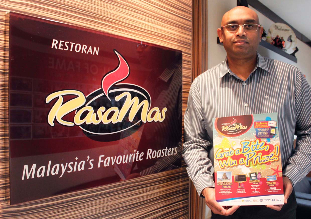 Grab a Bite and Win a Prize @ RasaMas