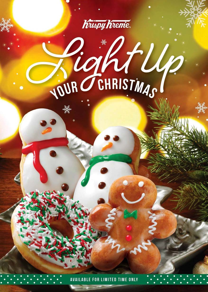 Light Up Your Christmas @ Krispy Kreme Doughnuts Malaysia