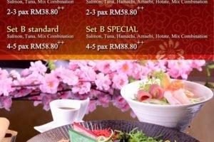 Prosperity Yee Sang @ Kuriya Japanese Restaurant