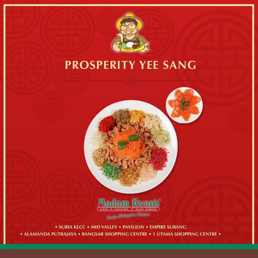 Prosperity Yee Sang @ Madam Kwan's