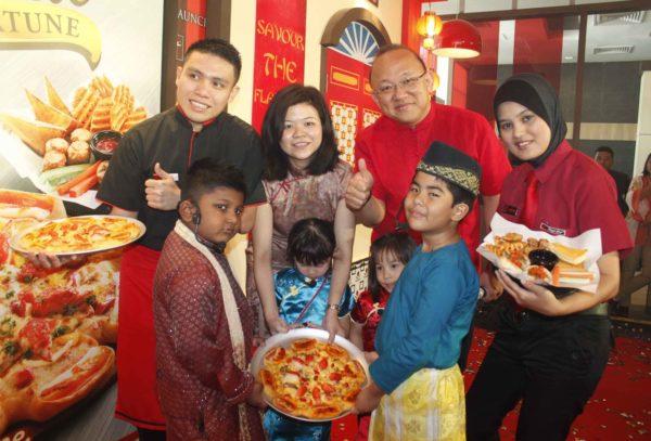 Golden Fortune Pizza @ Pizza Hut