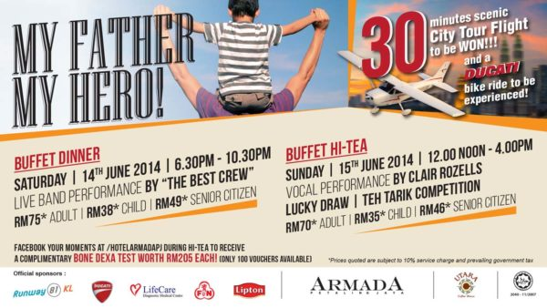 Father's Day Celebration @ Armada Petaling Jaya
