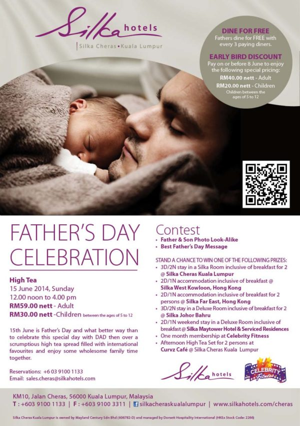 Father's Day Celebration @ Curvz Café, Silka Cheras Kuala Lumpur