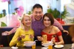 bariuma ramen jaya shopping centre petaling jaya - sheena liam, elvin s, amber chia