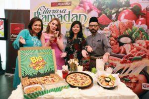 Big Ramadan Box, Asiana Pizza, Asiana Platter and Zesty Selasih @ Pizza Hut Malaysia