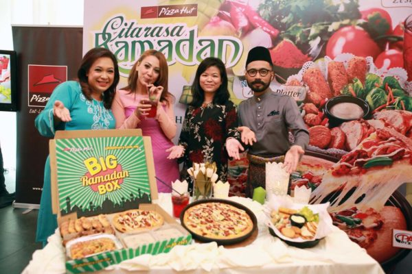 Big Ramadan Box, Asiana Pizza, Asiana Platter and Zesty Selasih @ Pizza Hut Malaysia