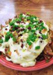 tgi friday's western food loaded chip nacho