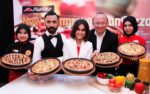 new and improved pan pizza from pizza hut, elfira loy, wak doyok, low kang moon