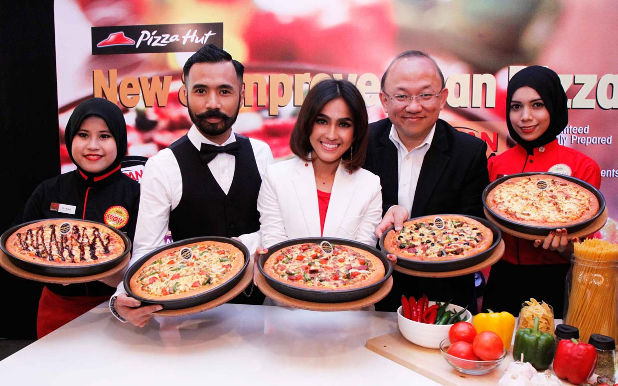 Satisfaction Guaranteed New and Improved Pan Pizza @ Pizza Hut