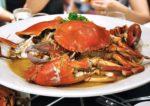 seafood buffet dinner chatz brasserie parkroyal kuala lumpur steamed crab