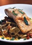 tony rom's legendary for ribs promotion 2014 salmon scampi pasta