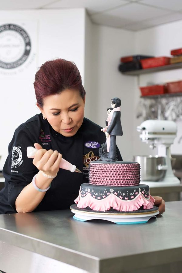 Malaysia Celebrity Chef Rosalind Chan The Brand Ambassador Of Satin Ice