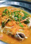hohoemi cafe and organic menara glomac damansara nyonya steam fish