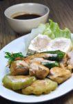 hohoemi cafe and organic menara glomac damansara yong tau foo