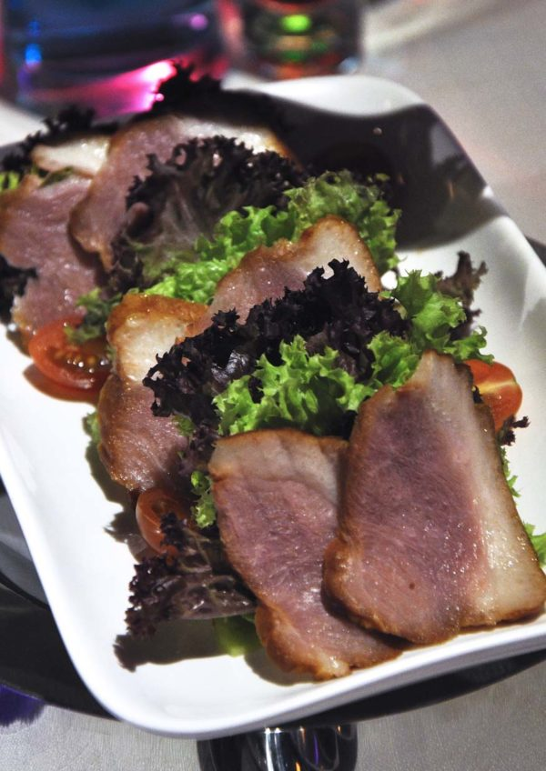 indulge luxury cinema tgv 1 utama the butterfly project smoked duck salad