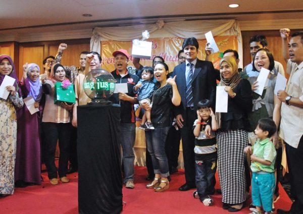 Jus Mangga Pran 'Minum dan Menang' Contest Prize Giving Ceremony @ Sri Damansara Club