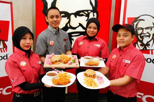 Black Pepper Mushroom Chicken Chop & Black Pepper Mushroom Zinger @ KFC Malaysia