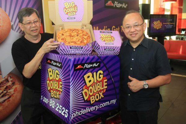 New Big Double Box Pizza Hut Malaysia