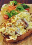 crave australian cafe oasis square ara damansara cheesy meatball sandwich