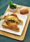 cultura bakery cake coffee lorong kurau bangsar mushroom cheese press toast