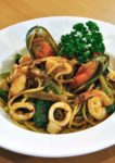 pretz n beanz cafe jalan solaris mont kiara spicy seafood pasta