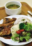 nana green tea japanese cafe 1 utama shopping centre chicken teriyaki