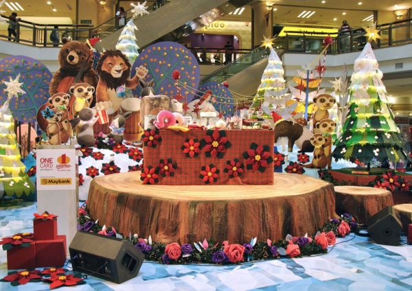 'Rustic Woodland Christmas – Love & Joy' Christmas 2014 @ 1 Utama Shopping Centre