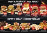 burger bakar abang burn seksyen 7 shah alam menu