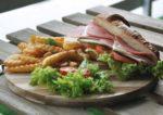 comic themed bmon cafe kota damansara turkey ham sandwich