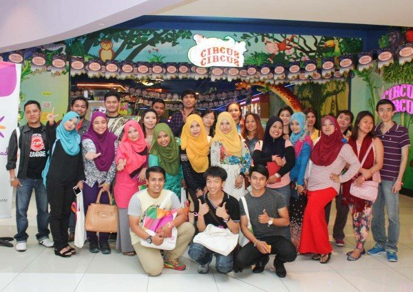 creating new memories bloggers day out klang parade circus circus arcade centre