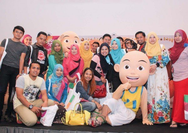 creating new memories bloggers day out klang parade upin ipin