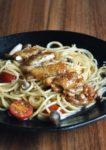 minamotonoya cafe japanese fusion food bandar sri petaling teriyaki chicken aglio olio