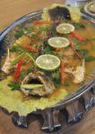 riverboat thai cuisine plaza danau desa kuala lumpur steamed seabass