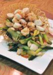 spring reunion chinese new year menu 2015 tai thong sauteed scallops