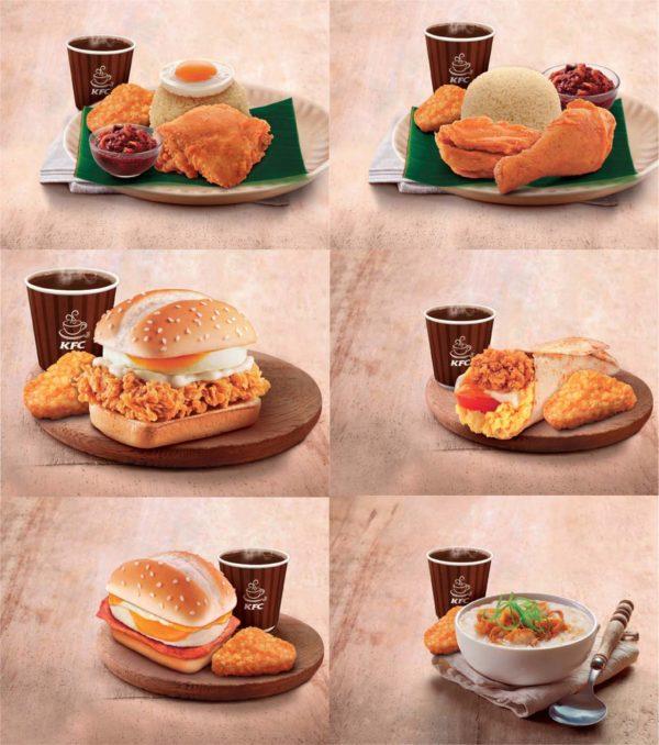 Delicious New Breakfast Range @ KFC Malaysia