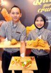kfc malaysia butter garlic crunch chicken and butter garlic burger