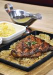 ny steak shack western food sunway pyramid grilled salmon