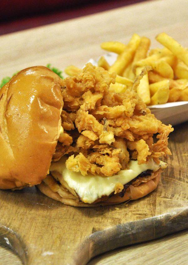 ny steak shack western food sunway pyramid southwest chicken sandwich