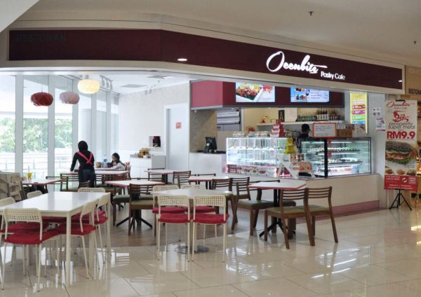 Occubite Pastry Cafe @ Quill City Mall, Kuala Lumpur