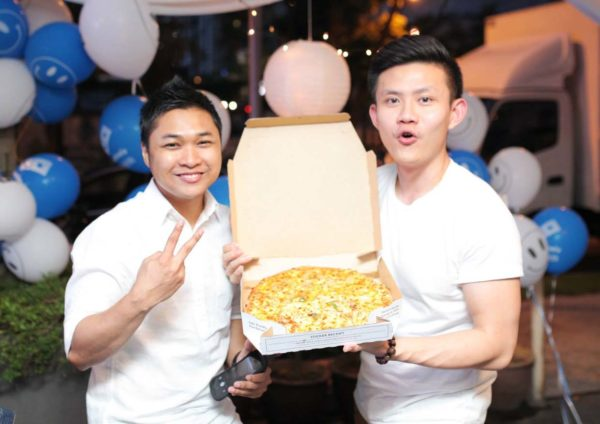 domino pizza fans appreciation party
