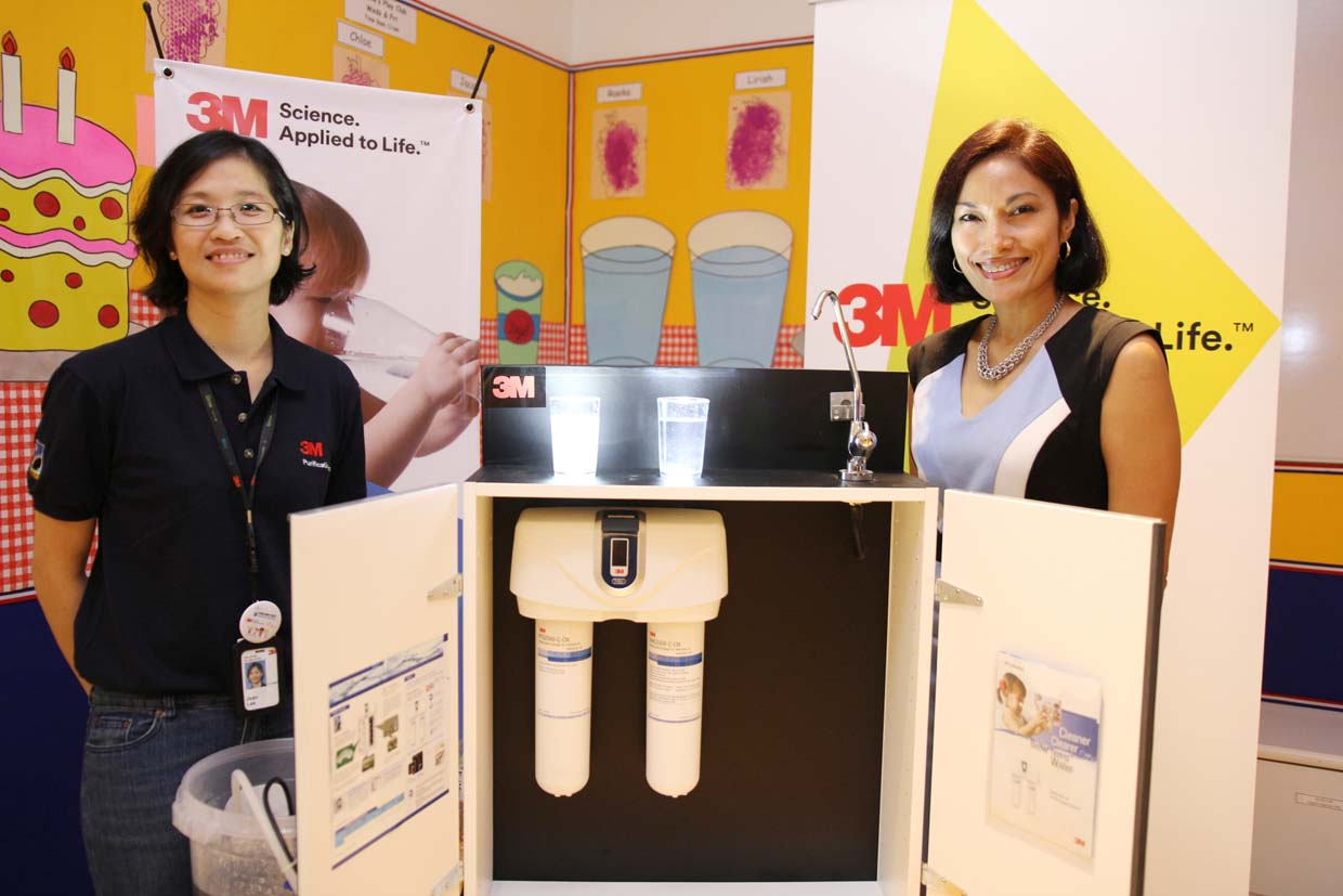 Malaysia's 1st Drinking Water Week Campaign With 3M